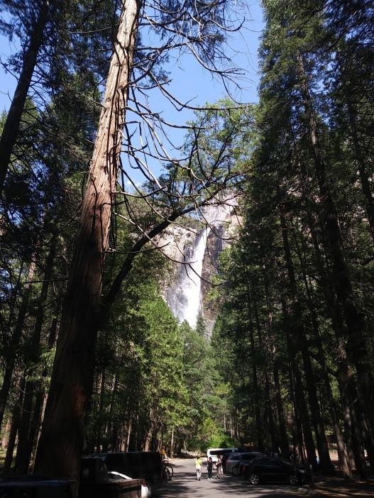Cascada de más de 700 metros de altura.